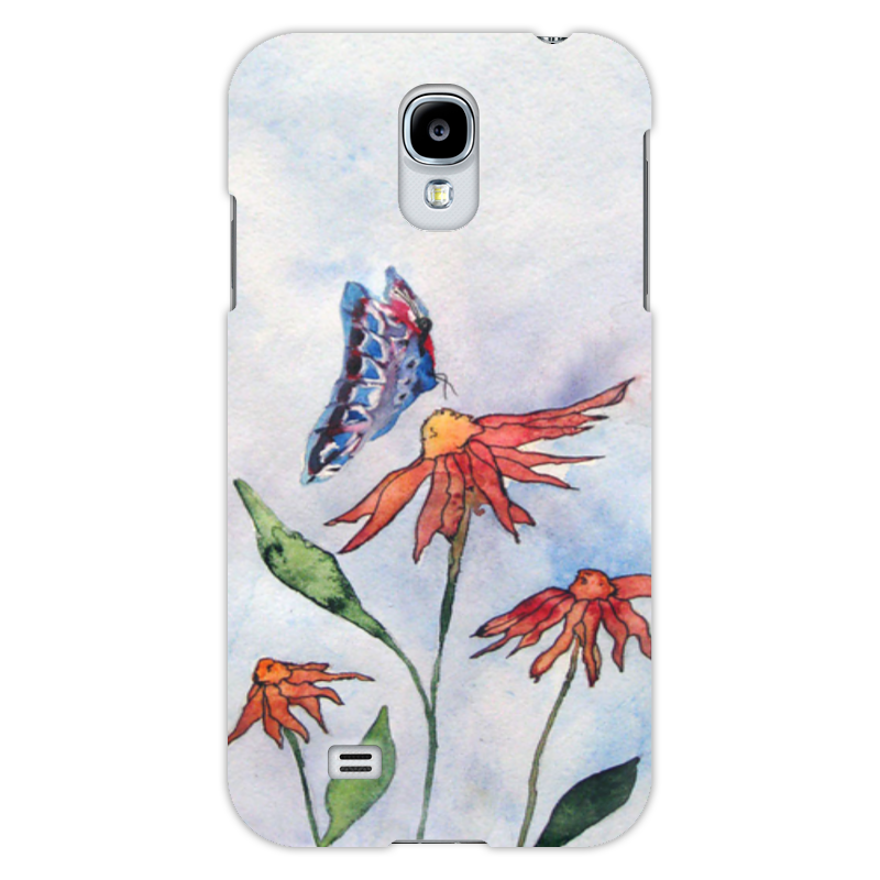 Чехол для Samsung Galaxy S4 Printio Бабочка бабочки magnetiq галстук бабочка