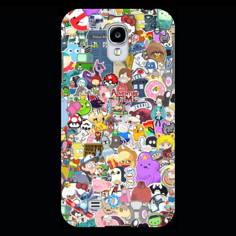 Чехол для Samsung Galaxy S4 Printio Stickers прогулочные коляски gesslein s4 air