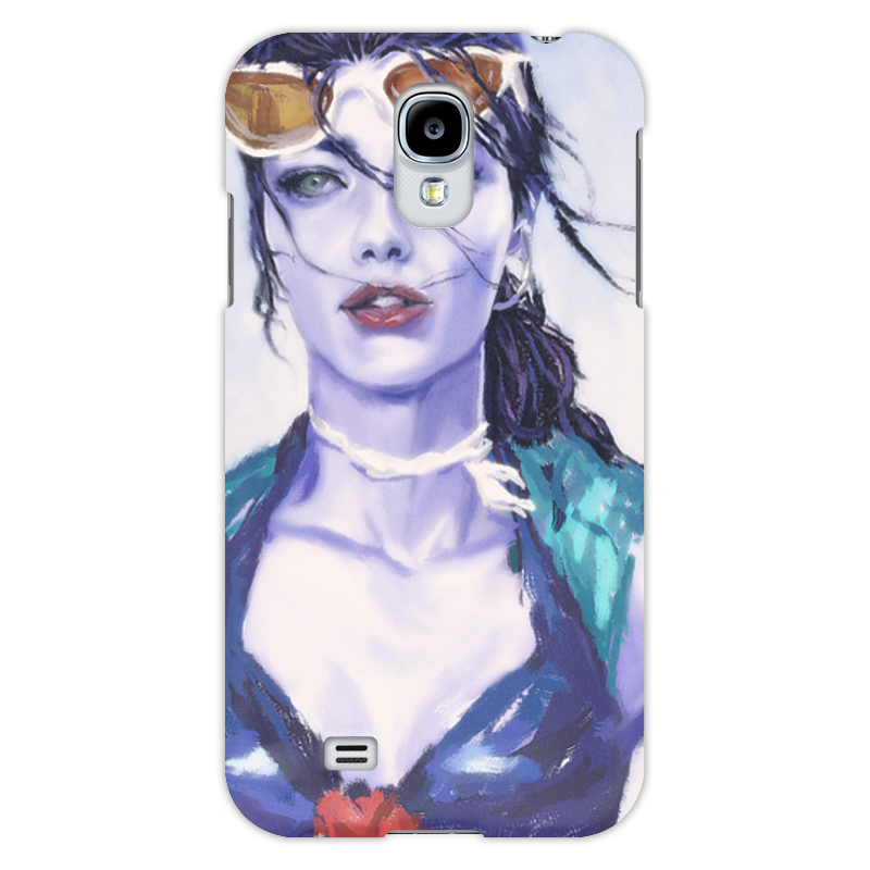 Чехол для Samsung Galaxy S4 Printio Overwatch: widowmaker