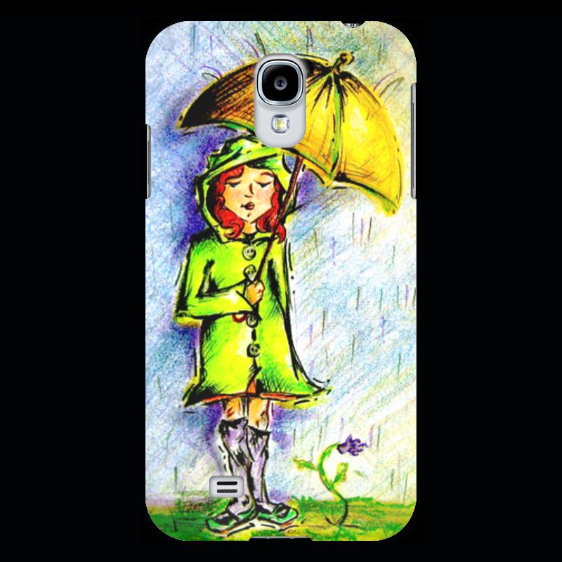 Чехол для Samsung Galaxy S4 Printio Дождик, дождик, уходи! прогулочные коляски gesslein s4 air