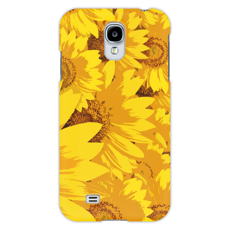 Чехол для Samsung Galaxy S4 Printio подсолнухи