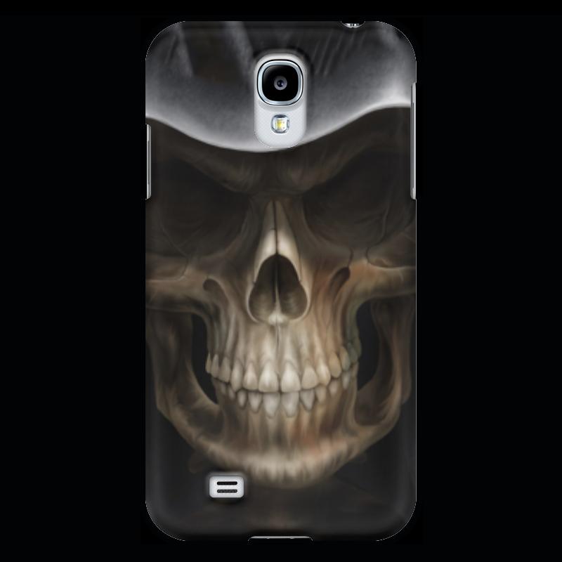 Чехол для Samsung Galaxy S4 Printio Череп в капюшоне чехол для samsung galaxy s4 printio череп художник