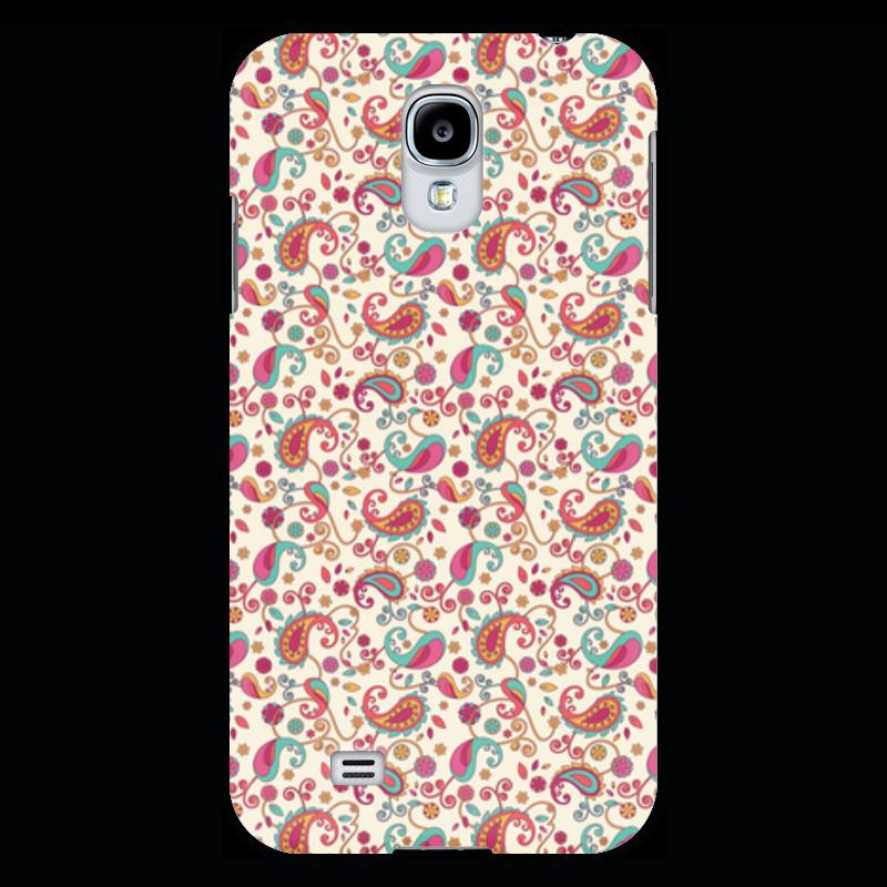 Чехол для Samsung Galaxy S4 Printio Пейсли (яркий)