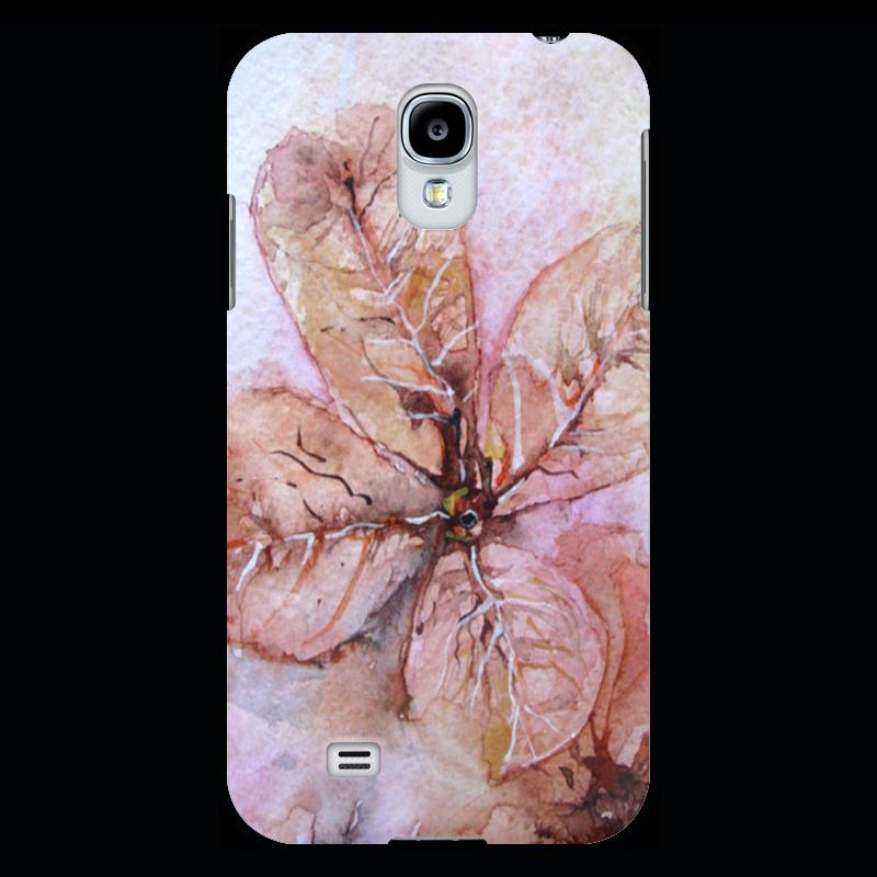 Чехол для Samsung Galaxy S4 Printio Прозрачный осенний цветок прогулочные коляски gesslein s4 air