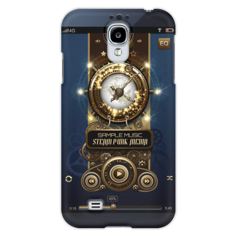 Чехол для Samsung Galaxy S4 Printio Стимпанк-музыка ii чехол для samsung s8530 wave ii palmexx кожаный в петербурге