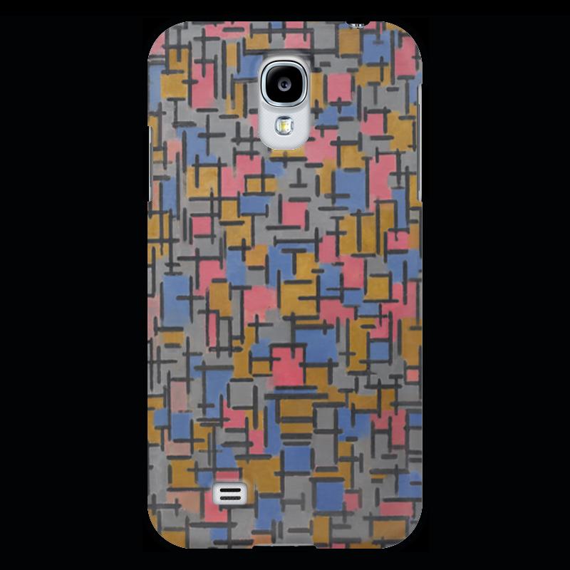 Чехол для Samsung Galaxy S4 Printio Композиция (питер мондриан) чехол для карточек пит мондриан дк2017 110