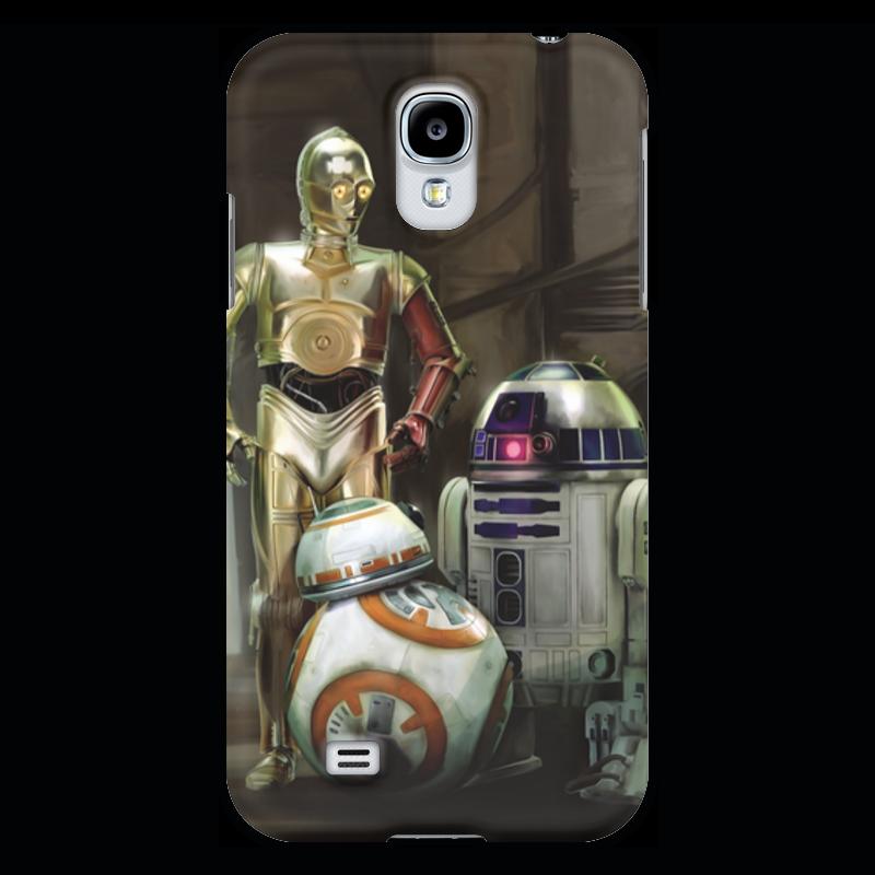 Чехол для Galaxy S4 Printio wars