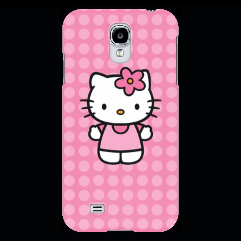 Чехол для Samsung Galaxy S4 Printio Kitty в горошек чаша горошек 2 л бел син 1150426