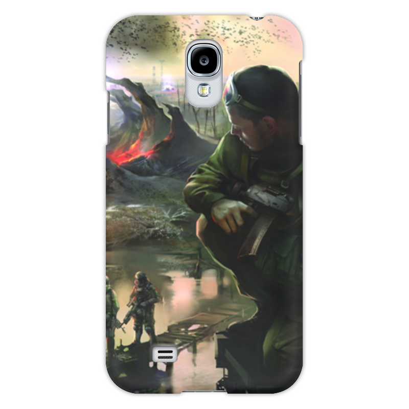 Чехол для Samsung Galaxy S4 Printio S.t.a.l.k.e.r.