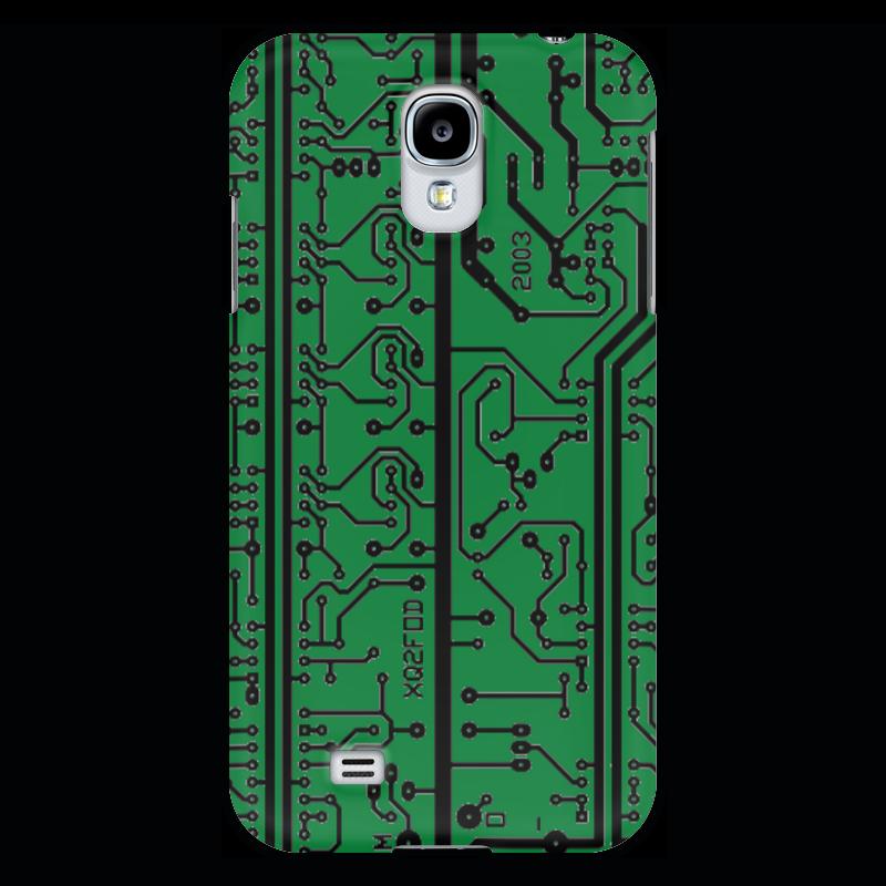 Чехол для Samsung Galaxy S4 Printio Электроника электроника в автомобиле вып 123