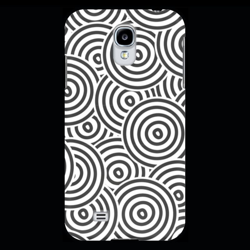 Чехол для Samsung Galaxy S4 Printio Радиальный