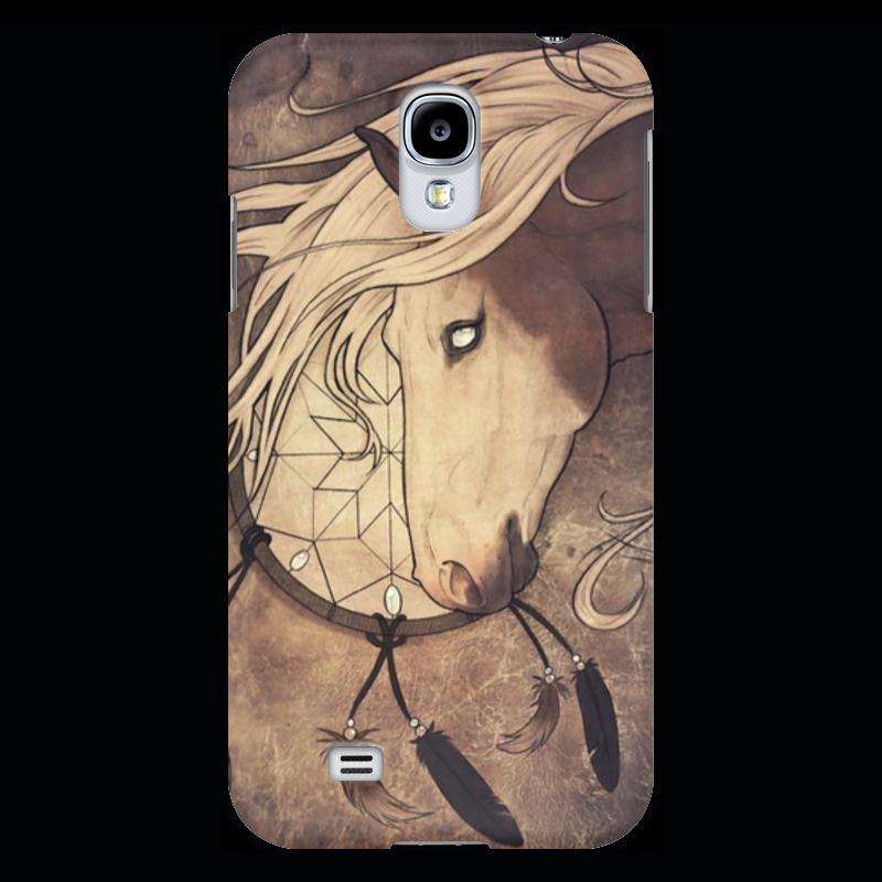 Чехол для Samsung Galaxy S4 Printio Кожаный ветер. падение сквозь ветер