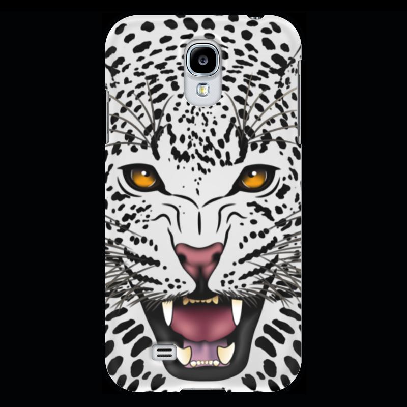 Чехол для Samsung Galaxy S4 Printio Леопард