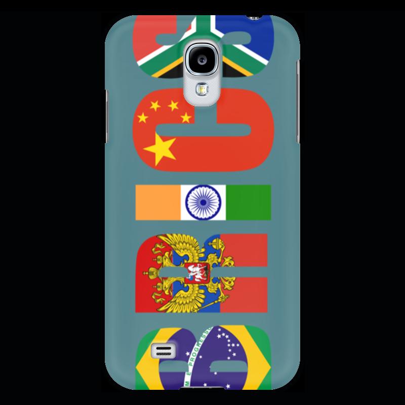 Чехол для Samsung Galaxy S4 Printio Brics - брикс прогулочные коляски gesslein s4 air