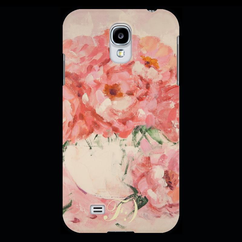 Чехол для Samsung Galaxy S4 Printio Нежный поцелуй роз 15 роз raffaello в подарок