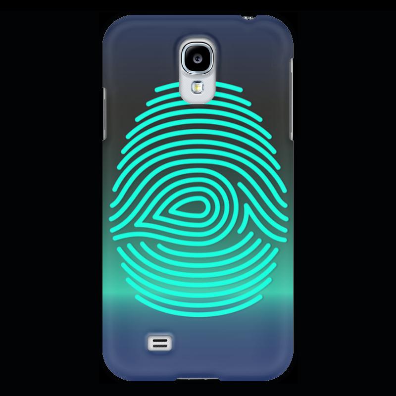 Чехол для Samsung Galaxy S4 Printio Отпечаток пальца чехол для карточек цветные совы на синем фоне дк2017 112