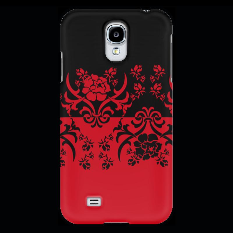 Чехол для Samsung Galaxy S4 Printio Красно-черное прогулочные коляски gesslein s4 air