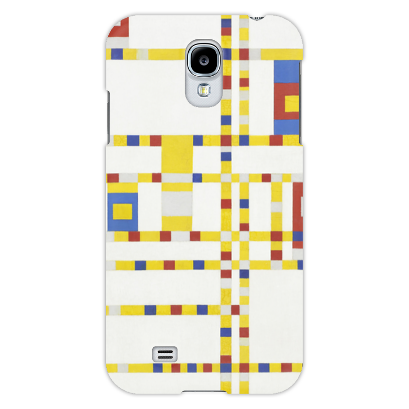 Чехол для Samsung Galaxy S4 Printio Бродвей буги-вуги (питер мондриан) чехол для карточек пит мондриан дк2017 110