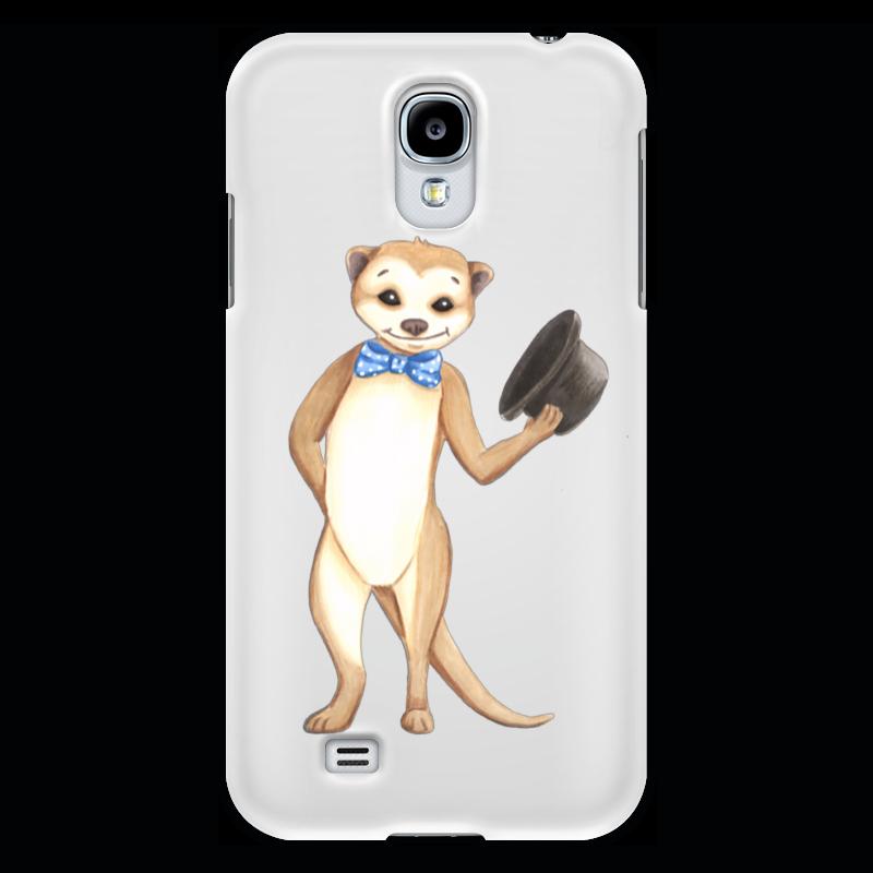 Чехол для Samsung Galaxy S4 Printio Вежливый сурикат кружка цветная внутри printio вежливый сурикат