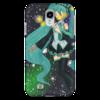 "Чехол для Samsung Galaxy S4 ""Хатсуне Мику"" - japan, hatsune miku, мику хацунэ, виртуальная певица, humanoid"