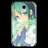 "Чехол для Samsung Galaxy S4 ""Miku Hatsune Sush"" - аниме, hatsune, мику, бесконечное лето, miku"