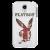 """Чехол для Samsung Galaxy S4 """"Playboy Британский флаг"""" - playboy, плейбой, плэйбой, великобритания, зайчик"""