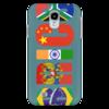 "Чехол для Samsung Galaxy S4 ""BRICS - БРИКС"" - россия, китай, индия, бразилия, юар"