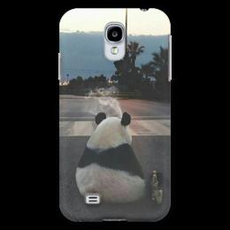 """Чехол для Samsung Galaxy S4 """"Панда"""" - панда, одиночество, грусть, тоска"""