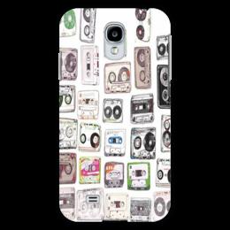 "Чехол для Samsung Galaxy S4 ""кассеты"" - ретро, stereo, cassette"