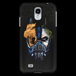 """Чехол для Samsung Galaxy S4 """"Джокер (Бэтмен)"""" - batman, джокер, бэтмен, mortal kombat, темный рыцарь"""