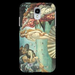 "Чехол для Samsung Galaxy S4 ""Рождение Венеры (Сандро Боттичелли)"" - картина, боттичелли"