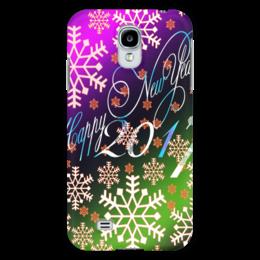 """Чехол для Samsung Galaxy S4 """"Снежинки снега"""" - праздник, новый год, снег, снежинки, 2017"""