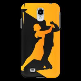 "Чехол для Samsung Galaxy S4 ""Танго в ночи"" - музыка, танец, ночь, танго"
