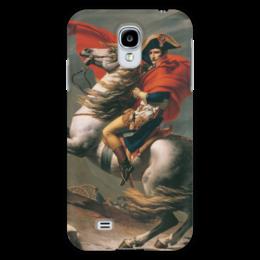 "Чехол для Samsung Galaxy S4 ""Наполеон на перевале Сен-Бернар (Жак-Луи Давид)"" - картина, давид"