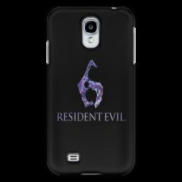 """Чехол для Samsung Galaxy S4 """"Resident Evil 6"""" - игра, обитель зла, resident evil, umbrella, re"""