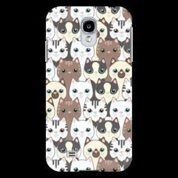 """Чехол для Samsung Galaxy S4 """"Котики"""" - коты"""