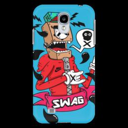 "Чехол для Samsung Galaxy S4 ""Nike design"" - робот, swag, nike"