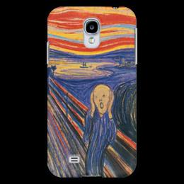 "Чехол для Samsung Galaxy S4 ""Эдвард Мунк- Крик"" - арт, картина, искусство, крик, эдвард мунк"