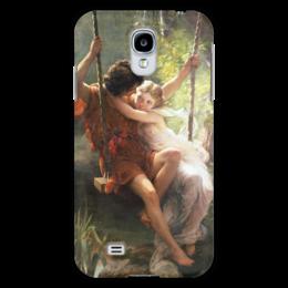 """Чехол для Samsung Galaxy S4 """"Весна (Пьер Огюст Кот)"""" - кот, картина"""