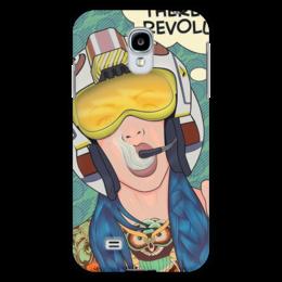 "Чехол для Samsung Galaxy S4 ""Супермен и тд."" - супермен, fly, поп-арт, pop art, pilot, пилот"