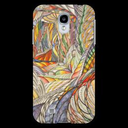 """Чехол для Samsung Galaxy S4 """"Тропик"""" - графика, абстракция, тропики"""