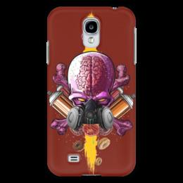 "Чехол для Samsung Galaxy S4 ""Граффити Арт"" - skull, череп, граффити, краска, graffiti"