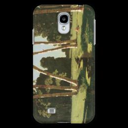 "Чехол для Samsung Galaxy S4 ""Берёзовая роща (картина Архипа Куинджи)"" - картина, архип куинджи"