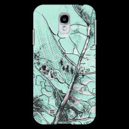 "Чехол для Samsung Galaxy S4 ""Весенняя осень"" - лист, рисунок, фактура"