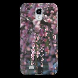 "Чехол для Samsung Galaxy S4 ""Цветущая сакура"" - цветы, солнце, деревья, красота, япония, japan, сакура, cherry blossom, sakura"