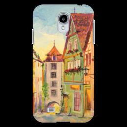 "Чехол для Samsung Galaxy S4 ""Улочка Франции"" - арт, рисунок, france, франция"