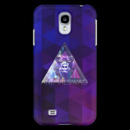 "Чехол для Samsung Galaxy S4 """"ANIMALSWAG II"" collection: Gorilla"" - swag, свэг, gorilla, горила"