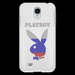 "Чехол для Samsung Galaxy S4 ""Playboy Россия"" - playboy, россия, плейбой, зайчик, плэйбой"