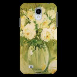 """Чехол для Samsung Galaxy S4 """"Букет роз"""" - цветы, розы, букет"""