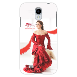 "Чехол для Samsung Galaxy S4 ""Tarja Turunen - Breath From Heaven - 10 лет"" - tarja turunen, tarja, тарья, тарья турунен, turunen"